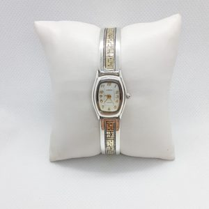Vintage Sterling Silver and 14k Gold Watch – Carolyn Pollack Collection