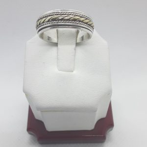 Sterling Silver Spinner Ring Size 11